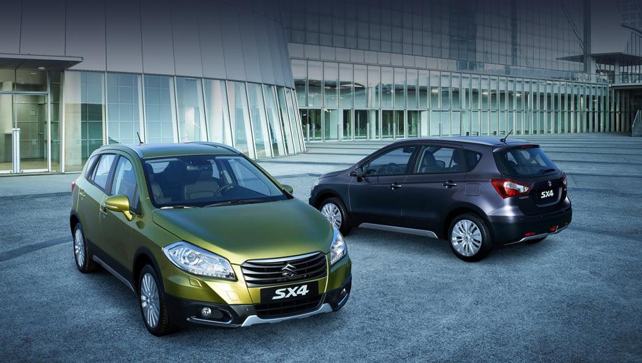 Suzuki sx4,Suzuki swift,Suzuki splash. По размерам SX4 нового поколения ближе к Дастеру, да и Тигуан ушёл от него недалеко.