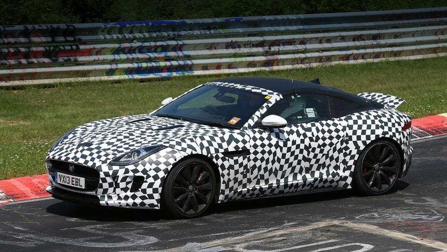 Jaguar f-type,Jaguar f-type coupe. Модель F-Type Coupe должна дебютировать осенью во Франкфурте, а в продажу поступит в 2014 году.