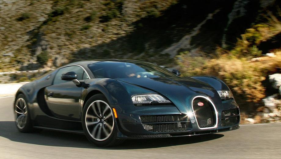Bugatti veyron. Пока неясно, как будет внешне отличаться новинка от версии Super Sport, но, вероятнее всего, никак.