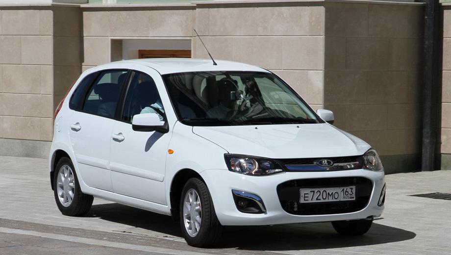 Lada kalina. Автомобили в топовом исполнении уже доступны для заказов у дилеров.