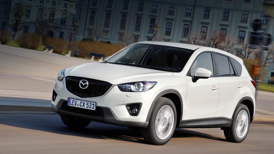 Стали известны цены на дизельный паркетник <b>Mazda CX</b>-<b>5</b> ...