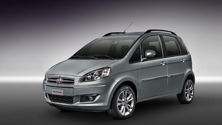 Fiat idea,Fiat idea adventure. Модель выпускается с 2003 года. В 2005 году она попала в Бразилию. Через некоторое время её выпуск в Европе сошёл на нет, зато бразильский вариант продолжил развитие, обновившись в 2010 году.