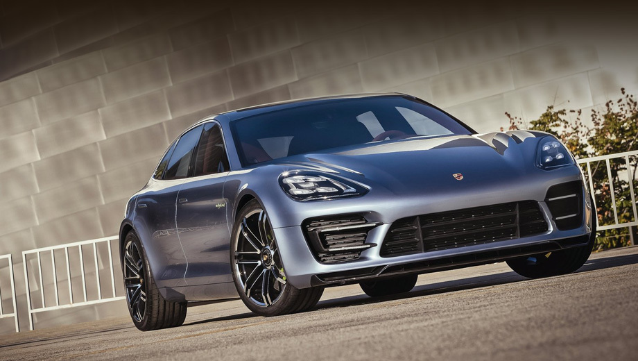 Bentley continental,Porsche panamera. Новая Панамера выйдет в середине десятилетия. Предполагается, что она заимствует некоторые черты внешности у концепта Panamera Sport Turismo.