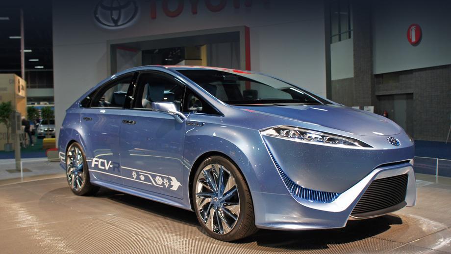 Toyota fcv-r. Концепт Toyota FCV-R успел покрасоваться на целом ряде выставок. Серийный аппарат должен быть создан по его мотивам.