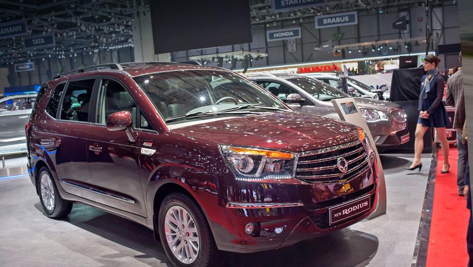 Ssangyong stavic. Заказы на новинку российские дилеры начали принимать 1 июля. Первые автомобили доберутся до покупателей в октябре.