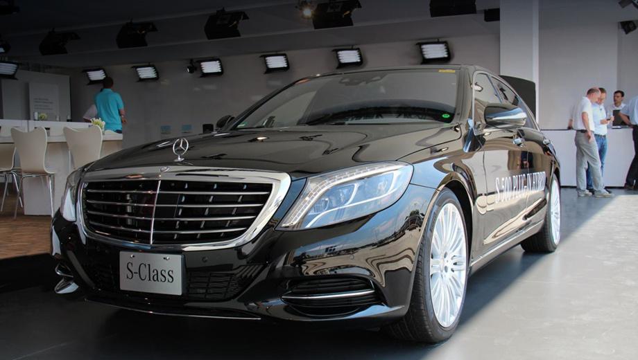 Mercedes s. По словам немцев, уровень выбросов углекислого газа составит 75 г/км.