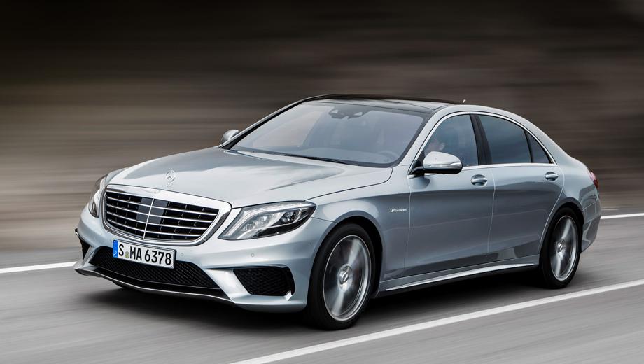 Седан Mercedes-Benz S 63 AMG явился на свет