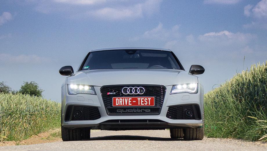 Audi rs7. Продажи в России начнутся осенью 2013 года. Цены пока не объявлены, но, по слухам, стартовая сумма не превысит 5,5 млн рублей. Для справки, за Audi RS6 Avant у нас просят 4 904 000 рублей, а за Audi S7 Sportback — 3 997 000.