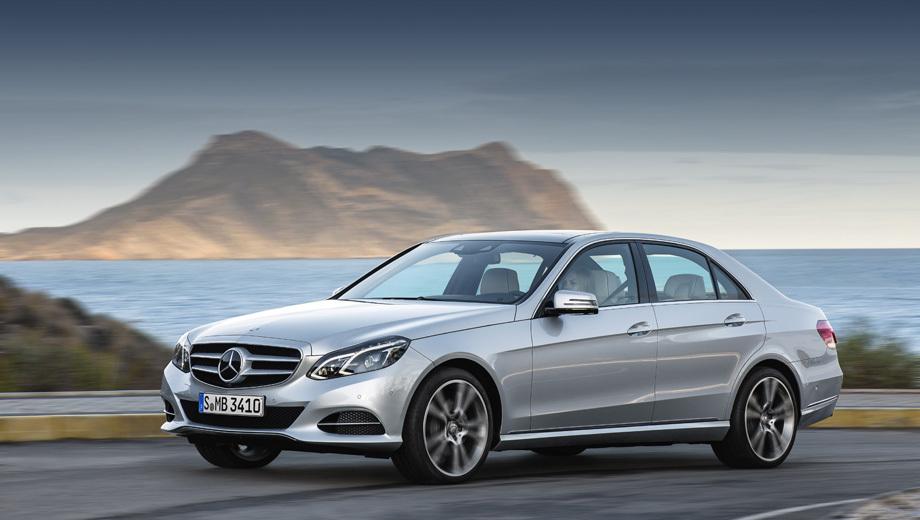 Mercedes e. Рестайлинговое семейство Е было представлено в начале нынешнего года.