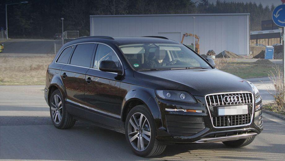 Audi q7. Скорей всего, Audi Q7 второго поколения сохранит двухрычажные подвески по кругу. Активные амортизаторы с несколькими режимами работы, пневмоподвеска — всё это тоже будет на «кью-седьмом».