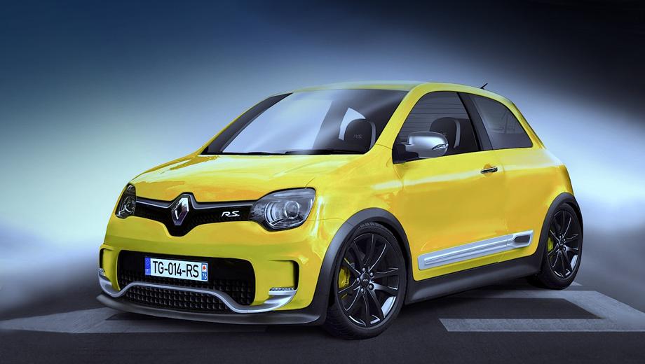 Renault twingo,Renault twingo rs. Новый Renault Twingo RS дебютирует в 2015 году и тогда же поступит в шоу-румы дилеров. Покупателям предложат только пятидверные модификации.