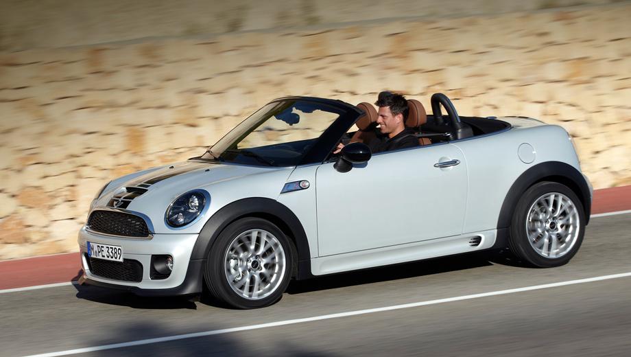 Mini roadster,Mini coupe. Купе, как и родстер, простоит на конвейере ещё как минимум два года.
