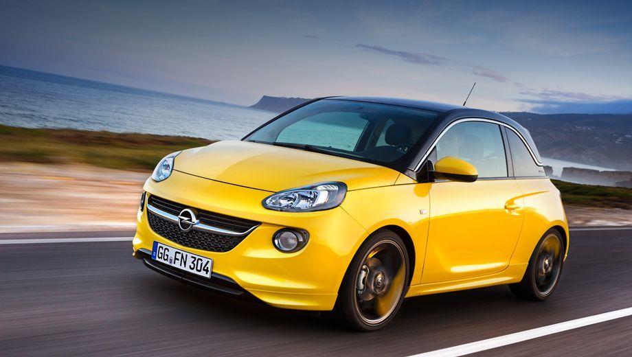 Opel adam. В следующем году европейские Адамы получат не только литровый трёхцилиндровый турбомотор, но и наддувный агрегат 1.4 с четырьмя цилиндрами.