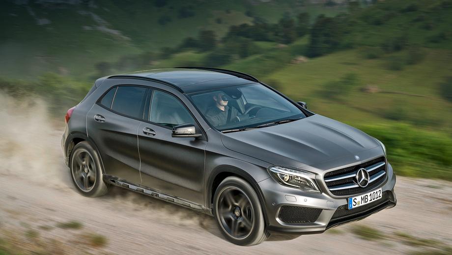Mercedes gla. Экстерьер кроссовера GLA выполнен в стилистике нового А-класса. Плавные линии кузова сочетаются с резкими гранями выштамповок.