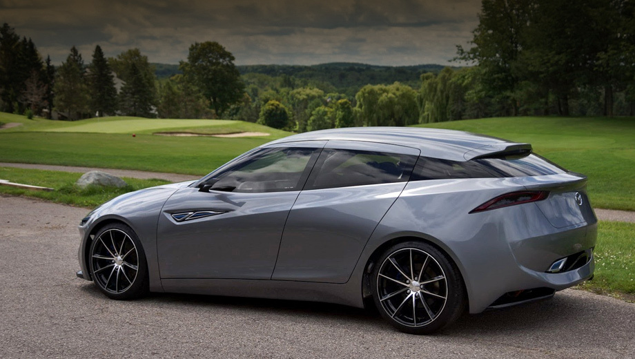 Mazda deep orange. Компания Mazda не считает этот проект своим, так что и будущее у данного автомобиля туманное. Но японцы следили за работой заокеанских коллег.