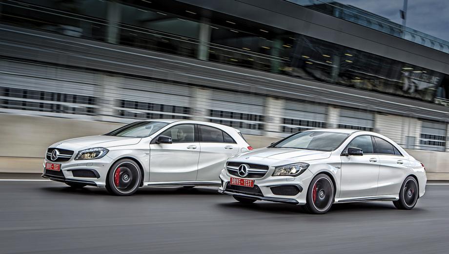 Mercedes a amg,Mercedes cla amg. Два турбонагнетателя, четыре литра рабочего объёма, восемь ведущих колёс, 720 лошадиных сил и 900 Н•м! Делим это на два и получаем хэтчбек A 45 и седан CLA 45, доработанные компанией AMG. Автомобили с идентичной технической начинкой, но с разными покупательскими ориентирами.