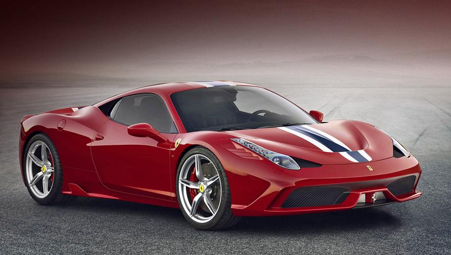 Ferrari 458 italia,Ferrari 458 speciale. Дебют форсированной двухдверки состоится 10 сентября.