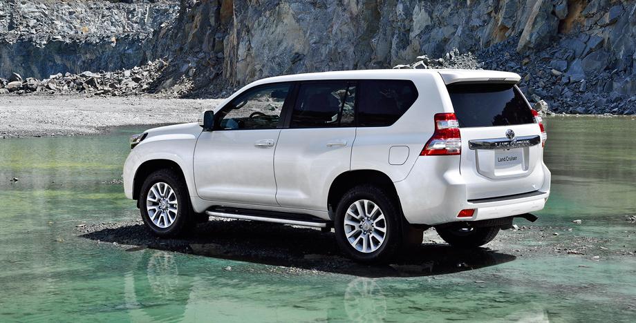 Обновились внедорожники Toyota Land Cruiser Prado и Lexus ... проходимец