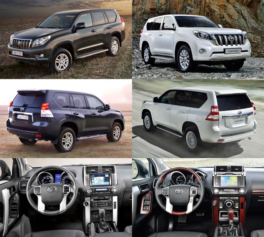 Обновились внедорожники Toyota Land Cruiser Prado и Lexus ...