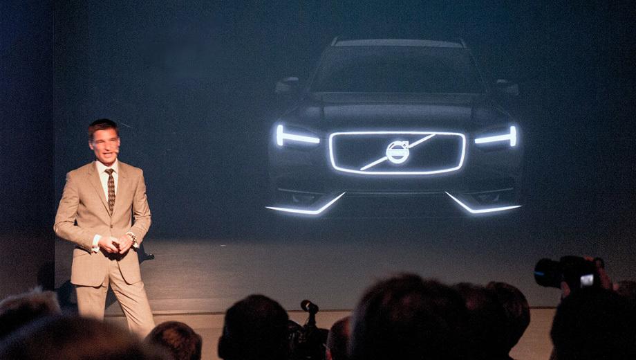 Volvo xc90. Новый кроссовер появится в 2014 году.