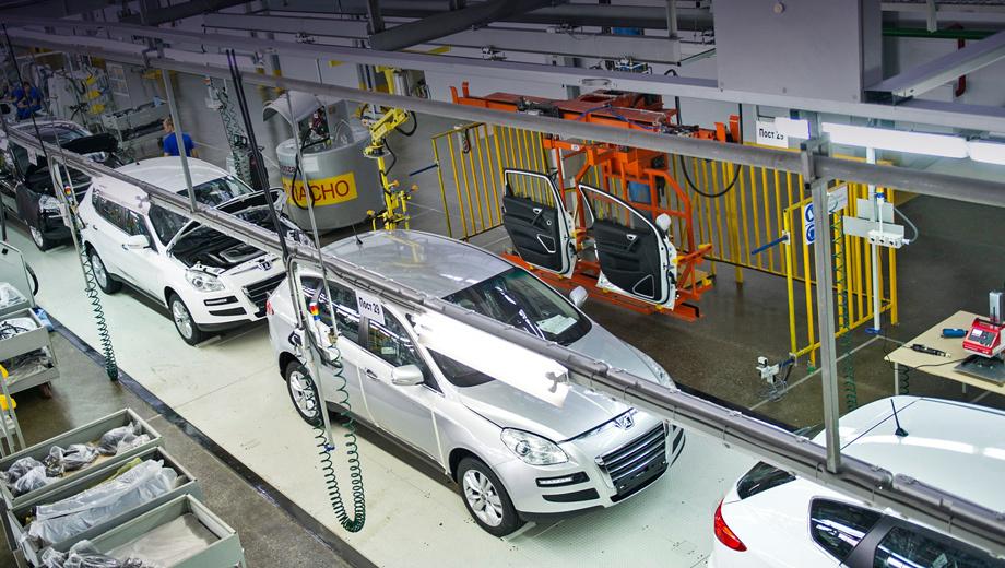 Luxgen 7 ceo. Собираться кроссоверы на заводе в Черкесске будут по полному циклу. Готовые детали кузова доставят из Тайваня.