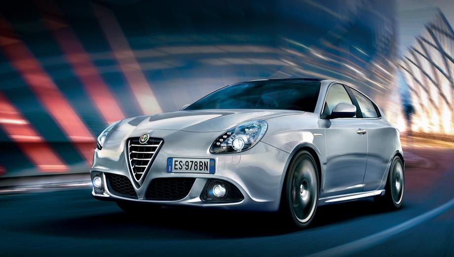 Alfaromeo giulietta. Для рестайлинговой модели доступны три новых цвета окраски кузова.