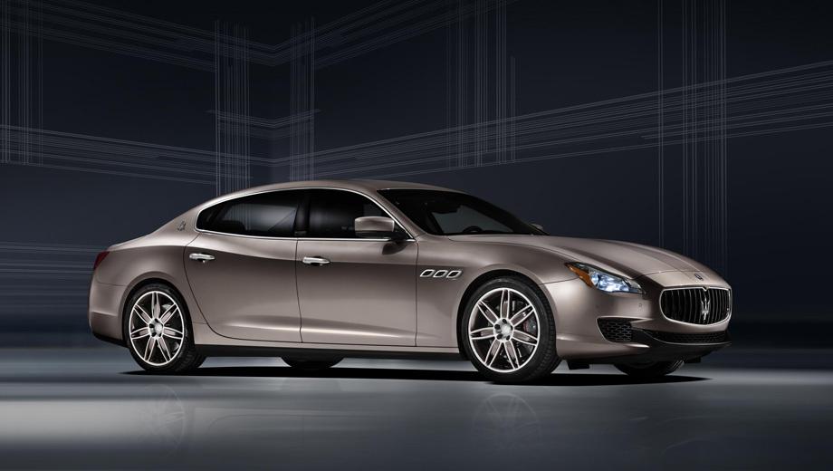 Maserati quattroporte ermenegildo zegna,Maserati quattroporte. По части техники четырёхдверка Quattroporte из лимитированной серии будет повторять обычные седаны. Все изменения — только в оформлении экстерьера и интерьера.