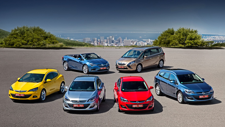 Opel astra,Opel zafira tourer,Opel cascada. Новые моторы пока распространяются только на семейство Astra (GTC, пятидверный хэтч, седан, универсал), компактвэн Zafira Tourer и кабриолет Cascada. Последний в презентации не участвовал.