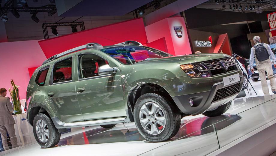 Dacia duster,Renault duster. Благодаря достаточно незначительным изменениям передней части кроссовера внешность паркетника заметно преобразилась.