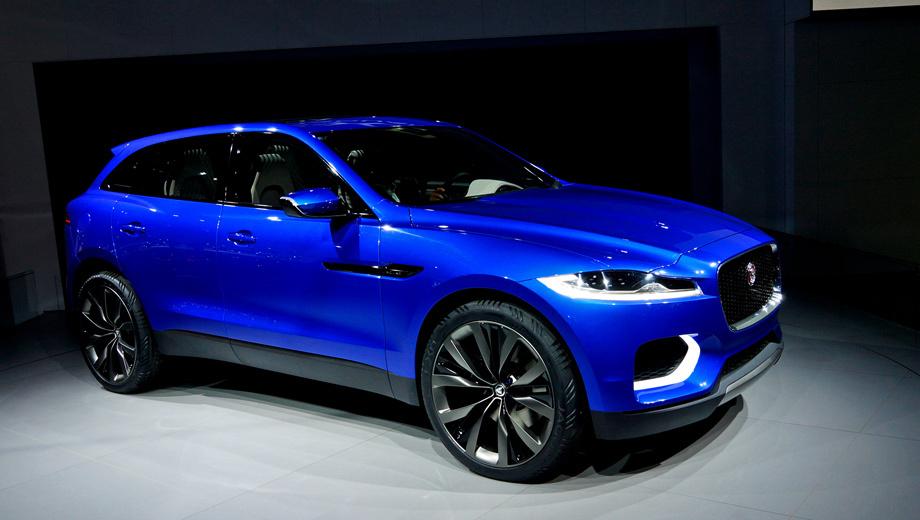 Jaguar c-x17. Серийный кроссовер Jaguar, в который превратится концепт C-X17, будет вторым автомобилем, базирующимся на новой алюминиевой «тележке». Первым станет седан D-класса по имени XS.