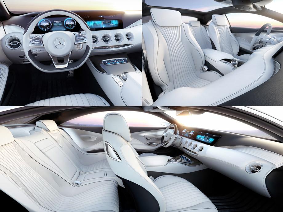 Двухдверка Mercedes S-Class Coupe поиграет на людских эмоциях