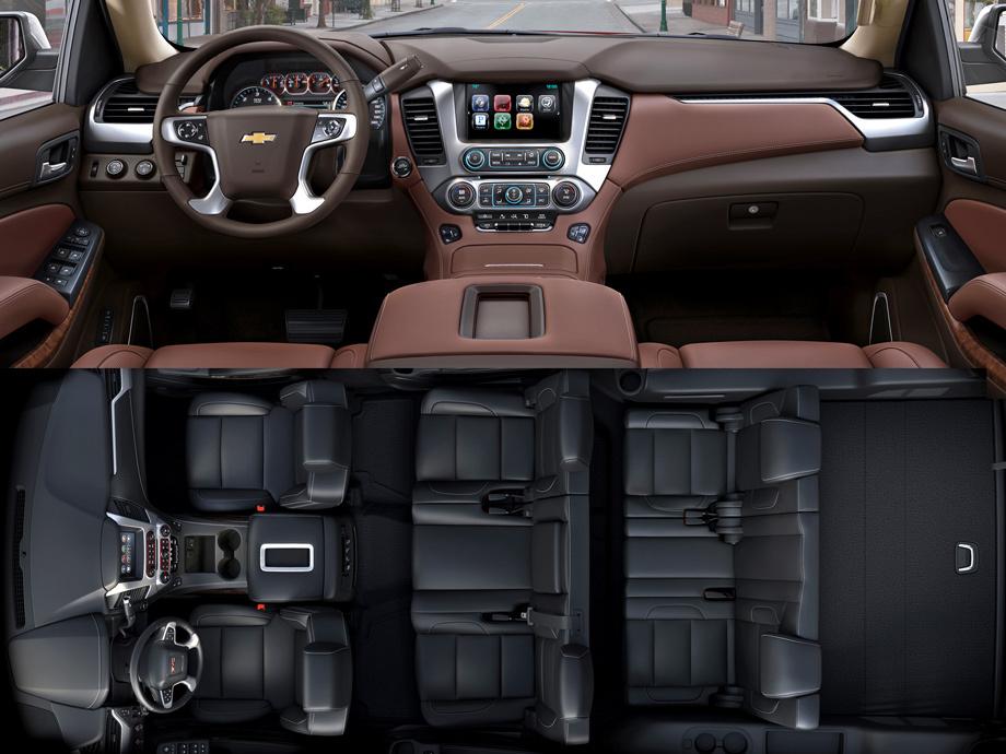 Интерьер Chevrolet Tahoe