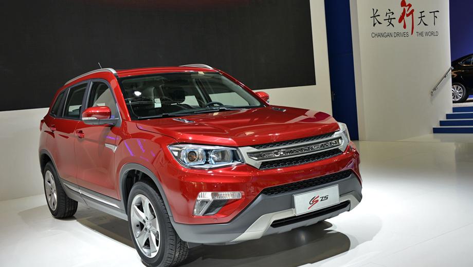 Changan cs75. По предварительным данным, автомобили марки Changan будет реализовывать компания Ирито.
