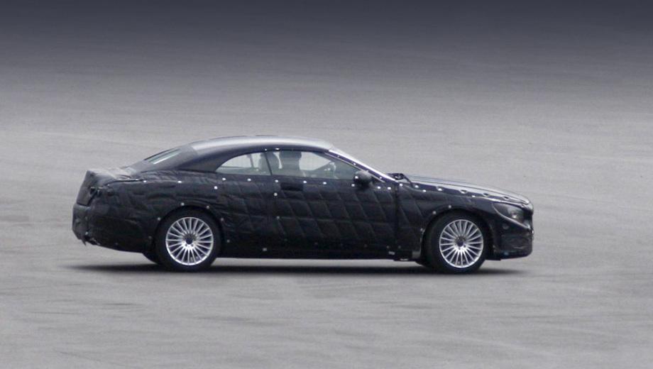Mercedes s,Mercedes s cabrio. Кабриолет «эска» будет оснащён тканевым верхом.
