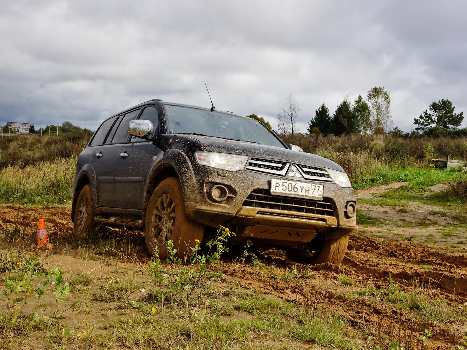 Обходимся малым с обновлённым Mitsubishi Pajero Sport