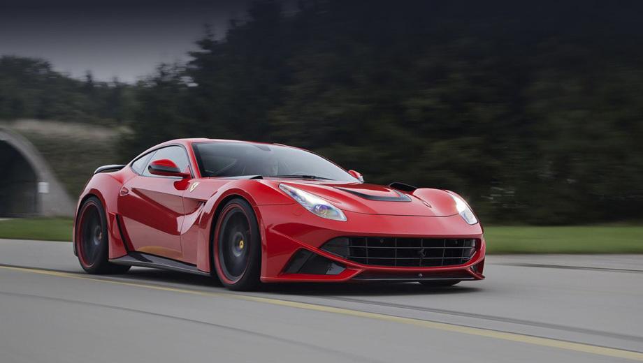Ferrari f12. Немцы не сообщают цену на тюнинг Берлинетты. Впрочем, если вы о ней беспокоитесь, то вряд ли вы потенциальный клиент компании.