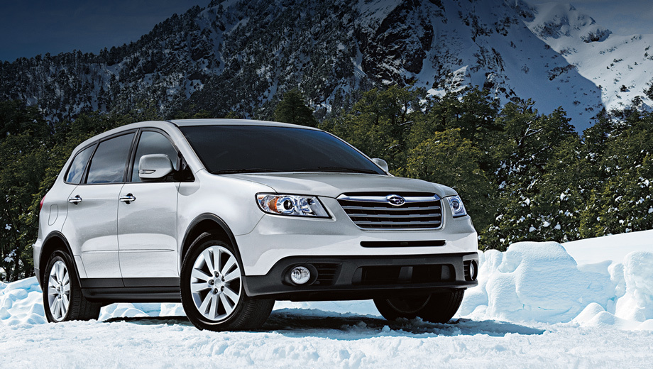 Subaru tribeca. В 2012 году в России было продано лишь 113 экземпляров кроссовера Subaru Tribeca.