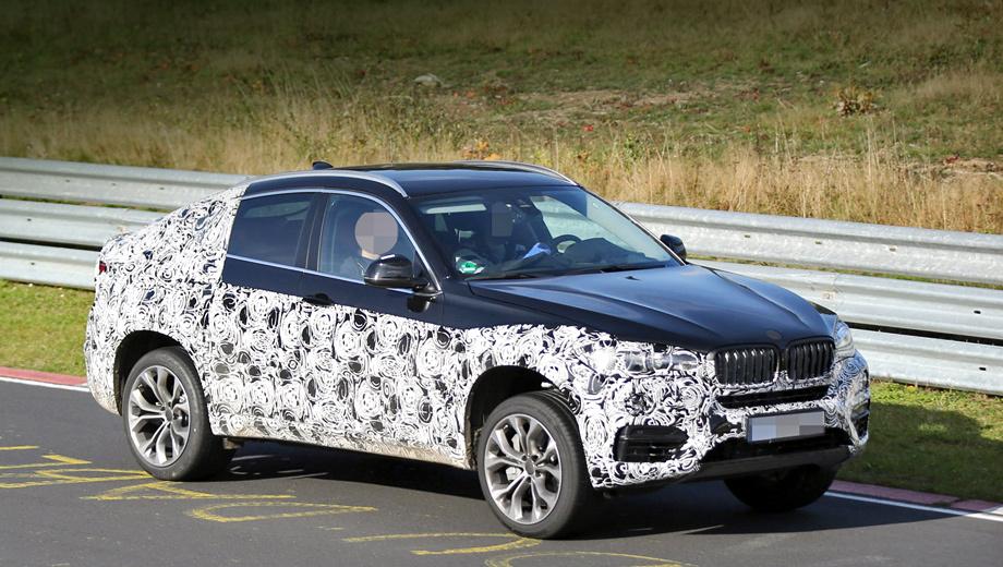 Bmw x6. «Второй» BMW X6, вероятно, будет представлен в следующем году на мотор-шоу в Детройте, а в продажу поступит в 2015-м.