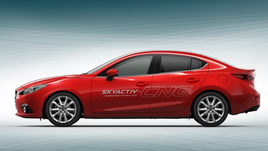 Mazda 3. По словам разработчиков, новая «матрёшка» — это мультирешение при диверсификации видов топлива и свидетельство универсальности технологии Skyactiv.