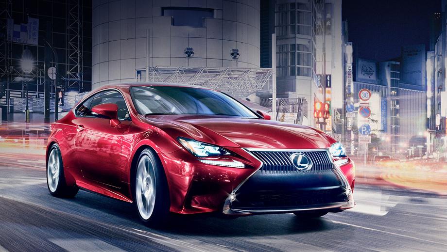 Lexus rc. В Токио купе будет выставлено на стенде компании в статусе концепта. Но в том, что перед нами практически серийная модель, сомнений нет.