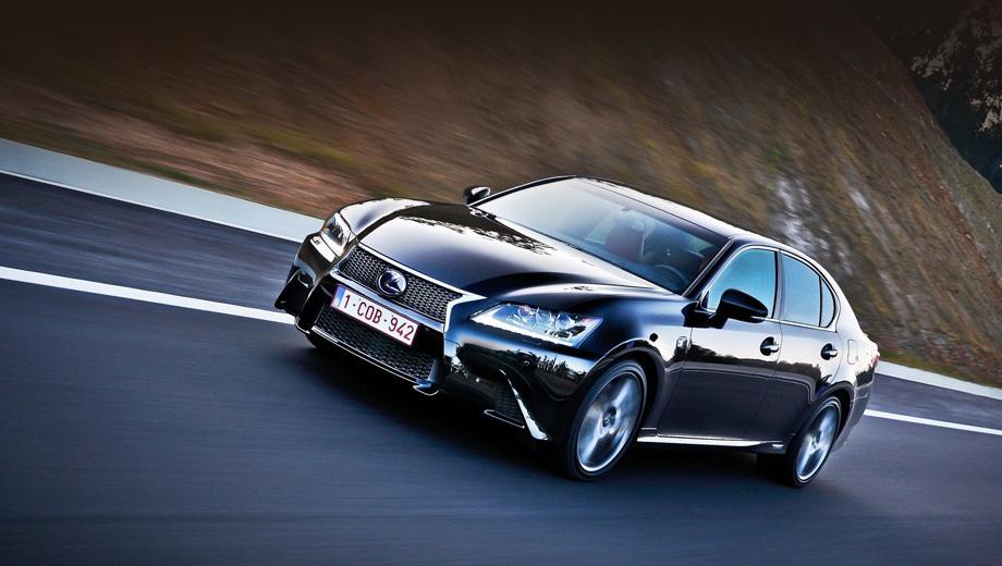 Седан Lexus GS получил в России новые комплектации — ДРАЙВ