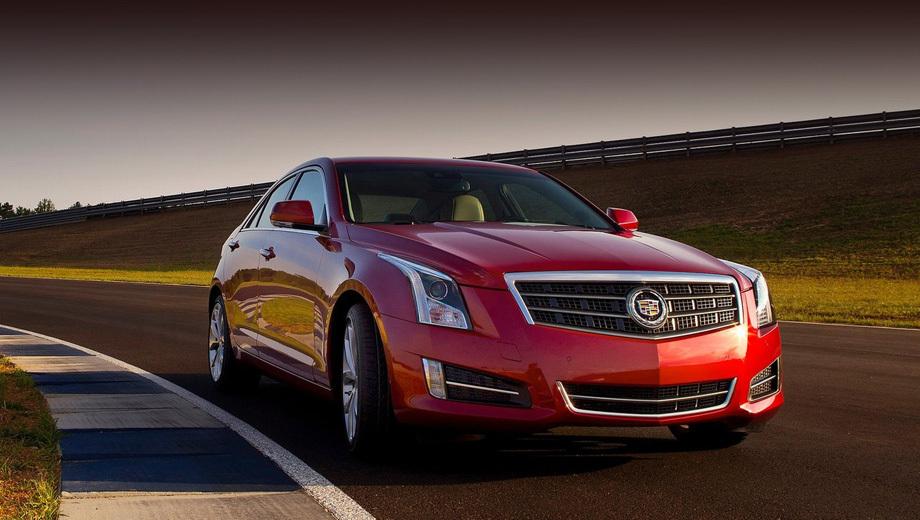 Седану Cadillac ATS-V сосватали форсированный мотор V6 3.2 — ДРАЙВ