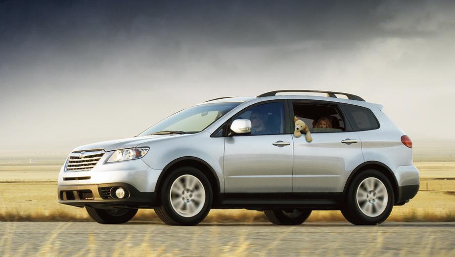 Subaru tribeca,Subaru exiga. Кроссовер Subaru Tribeca продаётся с 2005 года, пережил не самый удачный рестайлинг в 2008-м и за последний год на своём основном рынке — в США — разошёлся тиражом лишь в 78 000 автомобилей.