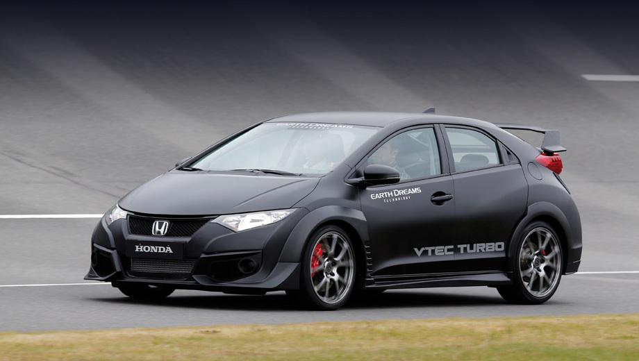 Honda civic,Honda civic type r. Civic Type R получил полностью новое «сердце», изменённое шасси и доработанную электронику.