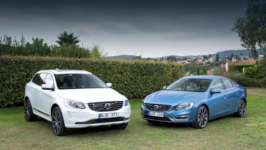 Volvo s60,Volvo s80,Volvo xc70,Volvo xc60. К первым российским покупателям Volvo с новыми моторами поступят в феврале 2014 года.