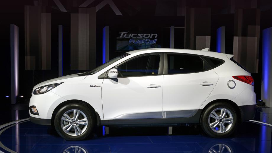 Hyundai tucson,Hyundai ix35. Калифорнийцы смогут получить в своё распоряжение экзотический паркетник начиная с весны 2014 года.