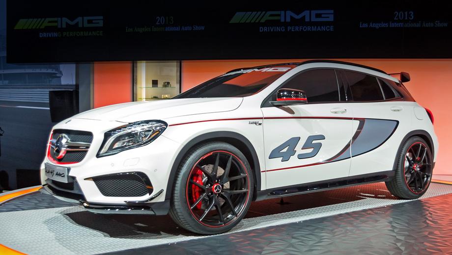 Отделение AMG доработало кроссовер Mercedes GLA — ДРАЙВ
