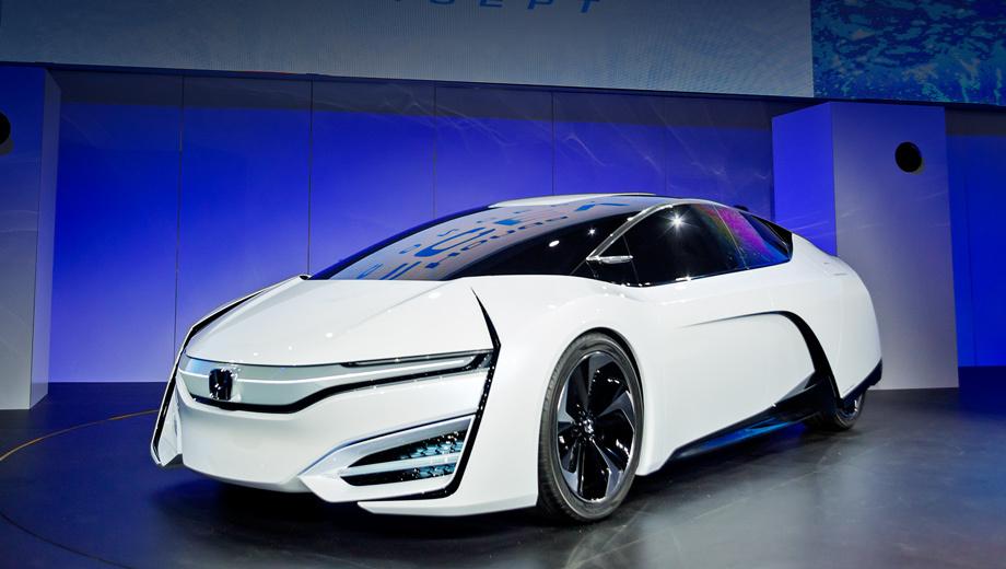 Honda fcev. Концепт, представленный в Лос-Анджелесе, не только служит витриной для последнего поколения водородной техники, но и показывает направление для улучшения собственно электрического привода.