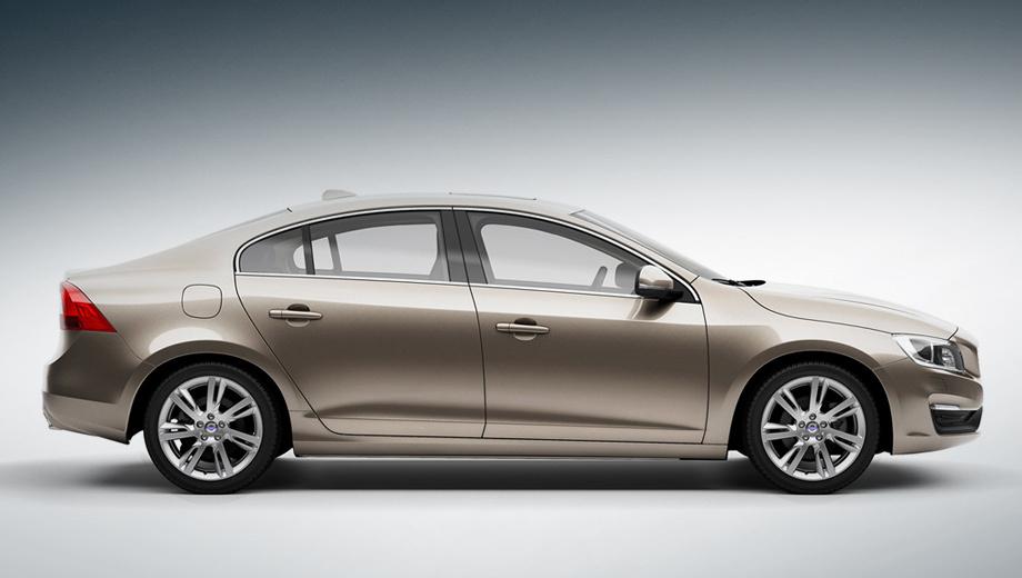 Volvo s60. Колёсная база теперь насчитывает 2856 мм против 2776 у стандартной версии седана.