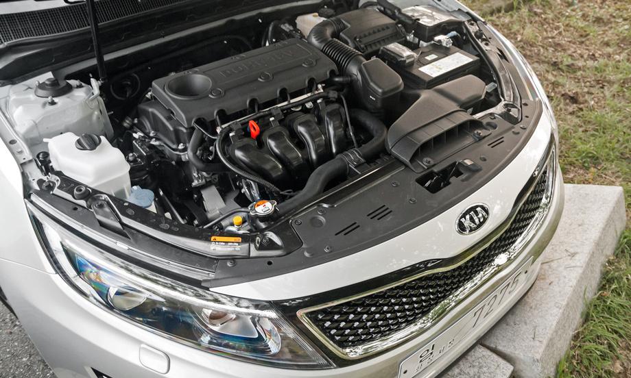 какой двигатель на kia optima